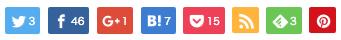 ボタンタイプ1スマホ(左寄せ+color)